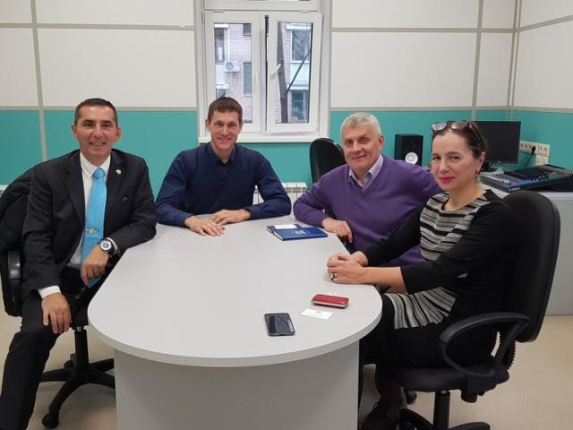 МОСКВА - ЛИОН (Франция), встреча с Президентом Международной ассоциации